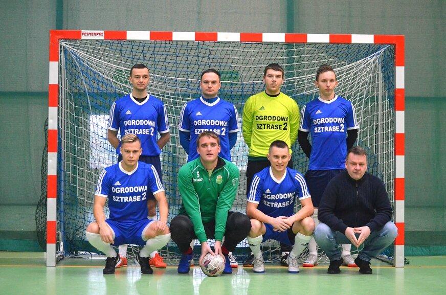 Zespół Ogrodowa Sztrase zdobył tytuł mistrzów Skierniewickiej Ligi Futsalu.