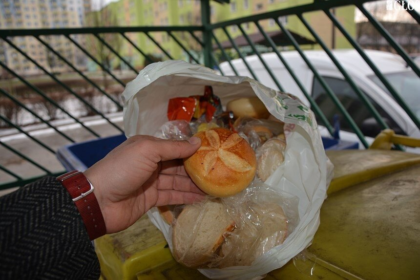 Mieszkańcy Żyrardowa marnują żywność.