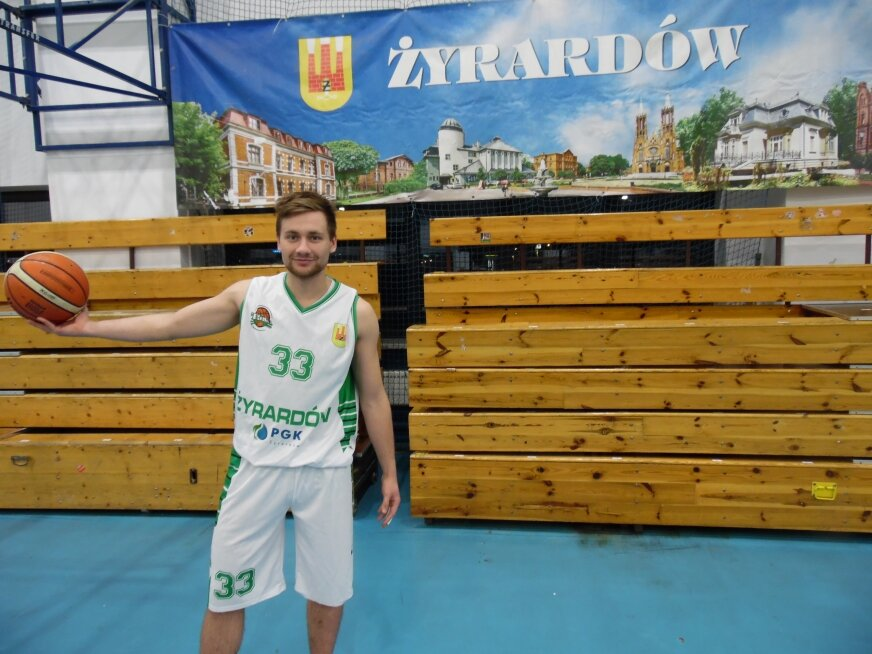 Michał Nesterowicz jest czołowym zawodnikiem UKS Trójka