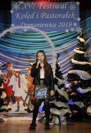 Lena Marat na przeglądzie kolęd w Koluszkach zdobyła I miejsce.