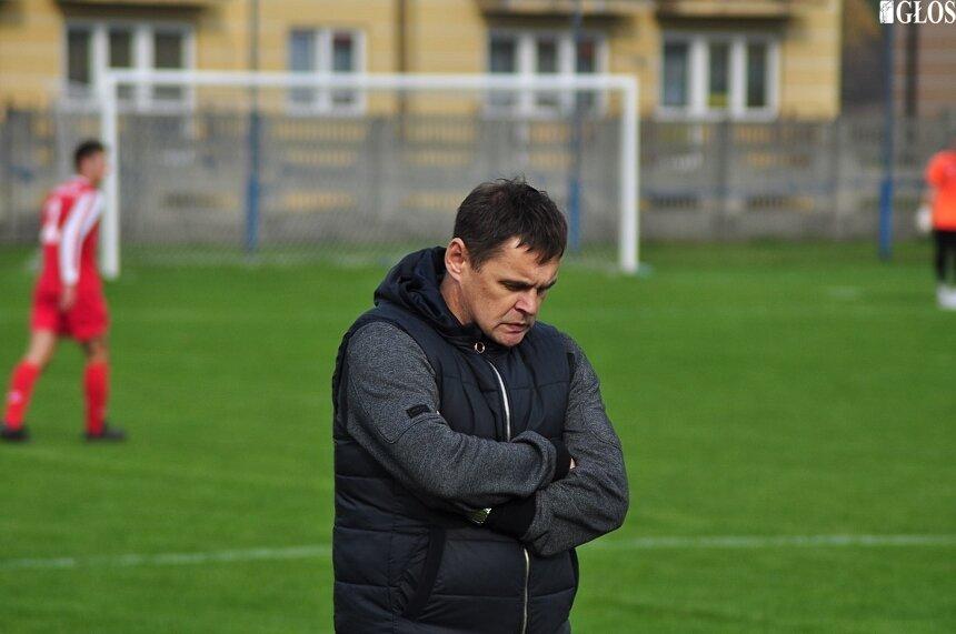 Trener Mszczonowianki Maciej Sliwowski prowadzi zespół od połowy rundy jesiennej.