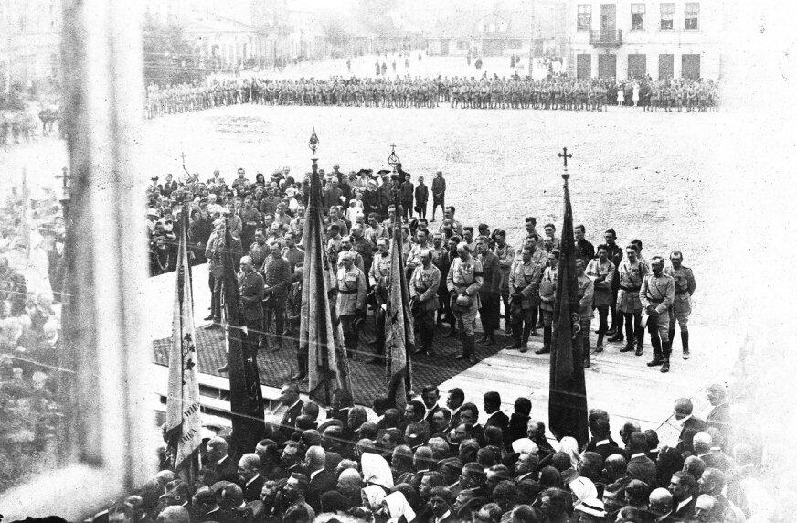 Dekretem prezydenta Raymonda Poincaré została powołana 4 czerwca 1917 roku we Francji ochotnicza formacja wojskowa – Armia Polska.
