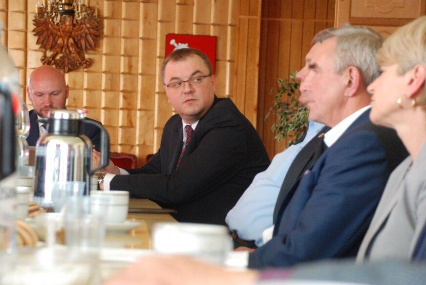 Paweł Sałek w Bolimowie nie zadeklarował jednoznacznie swojego poparcia dla budowy węzła na A2.