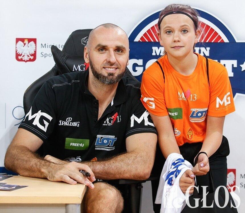 Młodzi koszykarze MKS Ósemka Skierniewice wzięli udział w XII Campie Marcina Gortata.