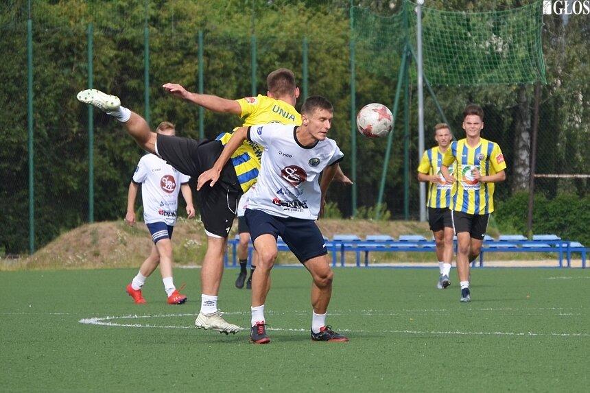 Młodzi piłkarze mieli szanse zaprezentować swoje umiejętności podczas test meczu.