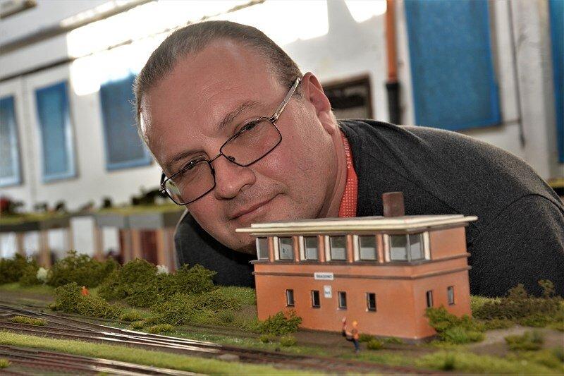 Jarosław Ruszkowski żyrardowski modelarz, pasjonat kolejnictwa