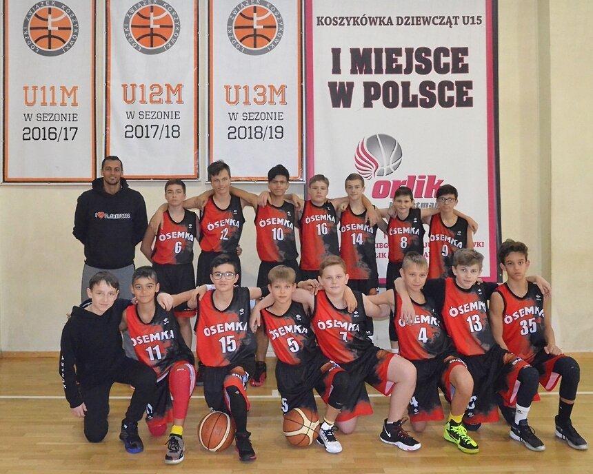 Zespół Adriana El-Warda gra w Basket Kids Cup 2019.