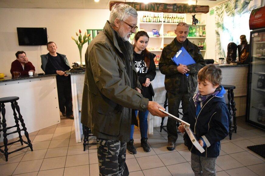 Najmłodszym wolontariuszem biorącym udział w akcji był 6-letni Julek.