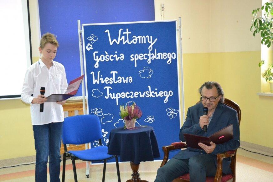 Narodowe Czytanie z Wiesławem Tupaczewskim.