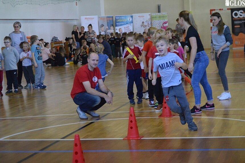 Dzieci z trzech przedszkoli wzięły udział w Olimpiadzie Przedszkolaka.