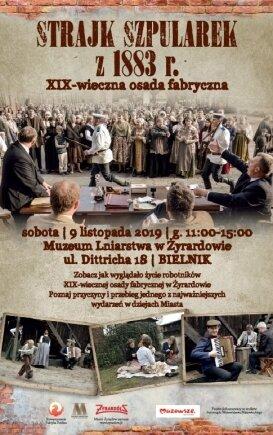 Strajk Szpularek w Muzeum Lniarstwa