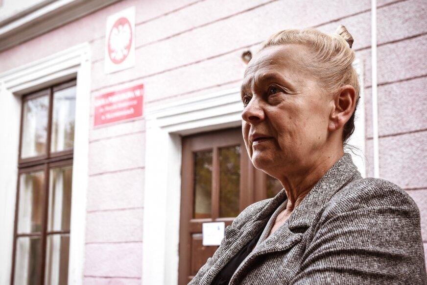 Anna Łapska, dyrektor Szkoły Podstawowej nr 1 im. Henryka Sienkiewicza