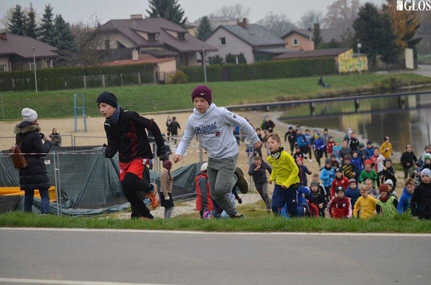 Dzieci i młodzież ze skierniewickich szkół wzięli udział w Biegu Niepodległości.
