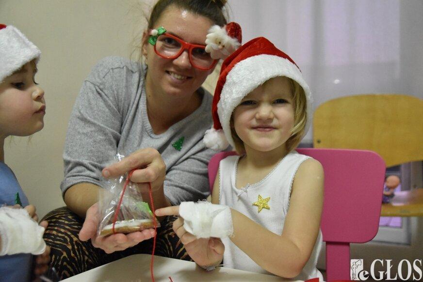 Kreatywnie, piernikowo, świątecznie w szpitalu
