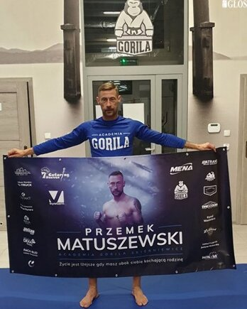 Przemysław Matuszewski udanie powrócił do oktagonu i walk w formule MMA.
