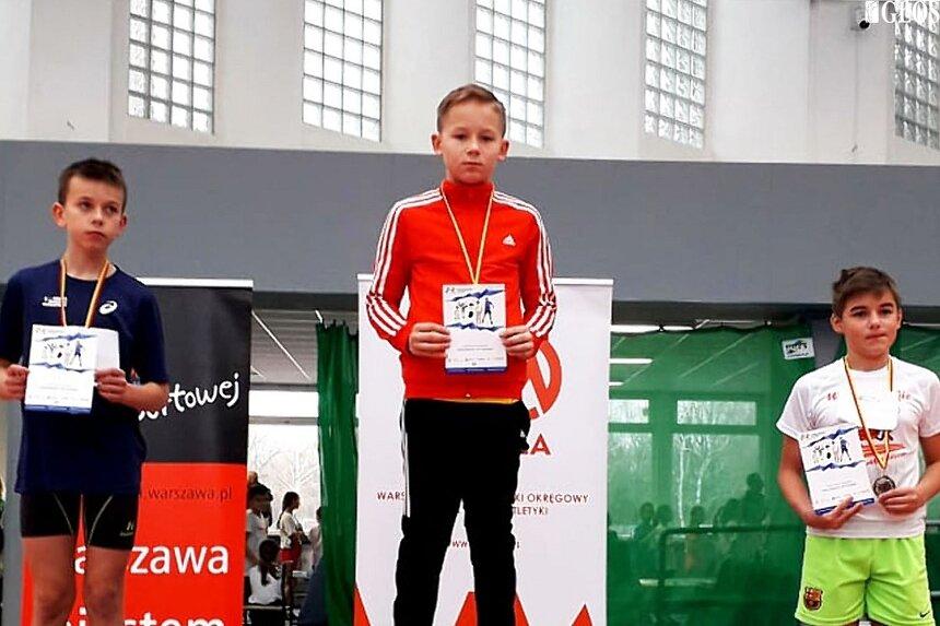 Czy Alex Garbicz pójdzie w ślady taty i zostanie mistrzem Polski w sprincie?