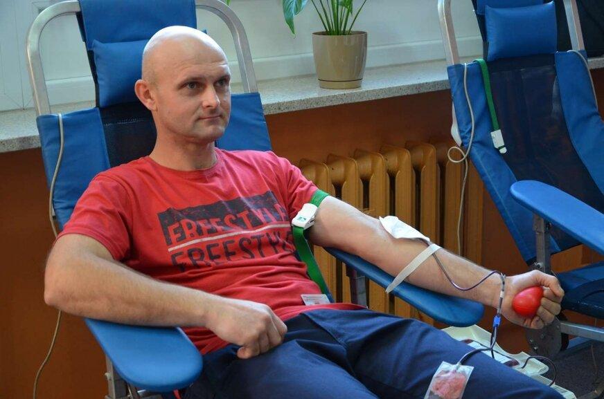 Oddali prawie 13 litrów krwi