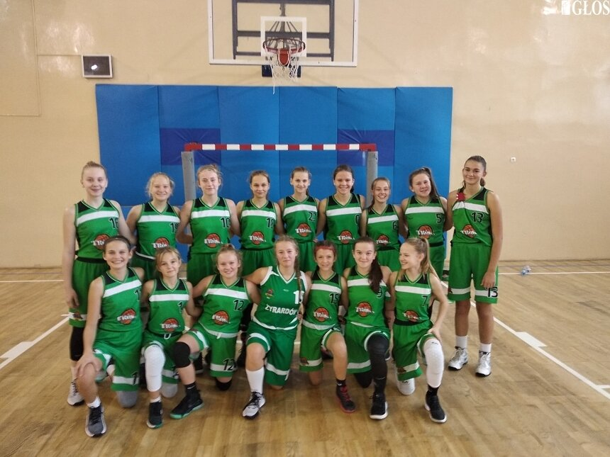 Zespoły dziewcząt UKS Trójka Żyrardów należą do koszykarskiej czołówki w Polsce.