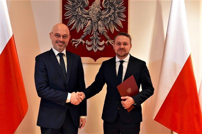 Jacek Ozdoba (z prawej) został wicemnistrem klimatu.