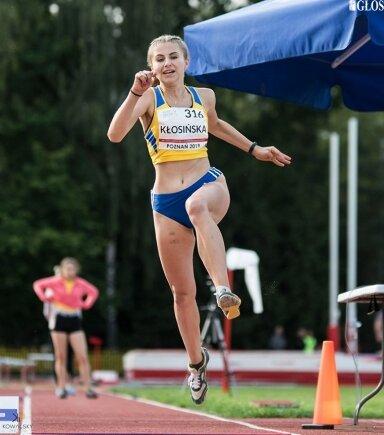 Anna Kłosińska szlifuje formę przed halowymi mistrzostwami Polski.