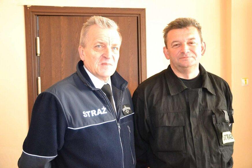 Strażacy chcą się specjalizować, mówi prezes Waldemar Suski.