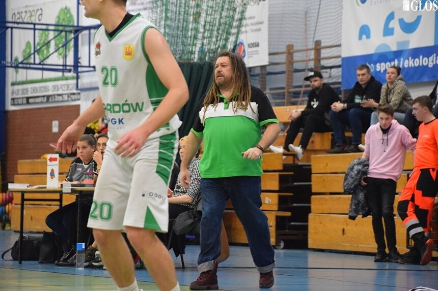 Trener Piotr Sochacki może być zadowolony z występu swojego zespołu.