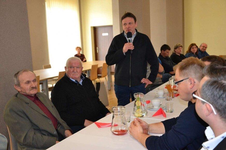Spotkanie z samorządem gminy Lubomia.