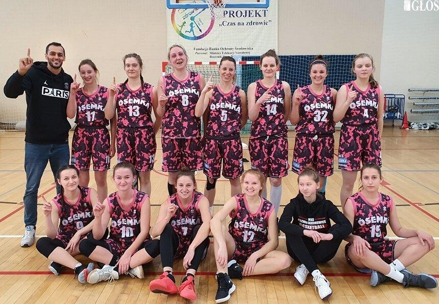 Zespół koszykarek MKS Ósemka zagra w przyszłym sezonie w I lidze.