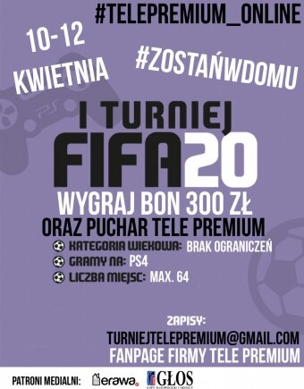 Turniej FIFA 20 online