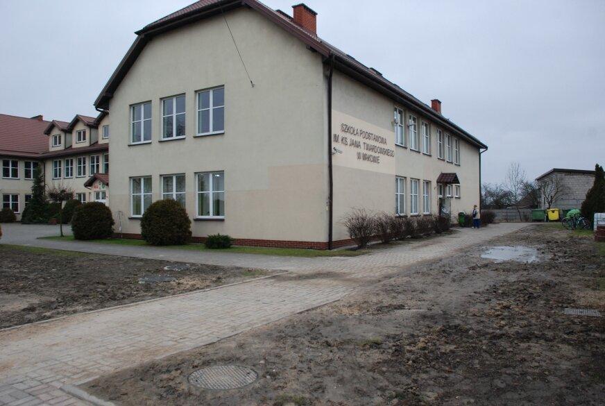 Żłobek zajmie jedno skrzydło budynku po gimnazjum.
