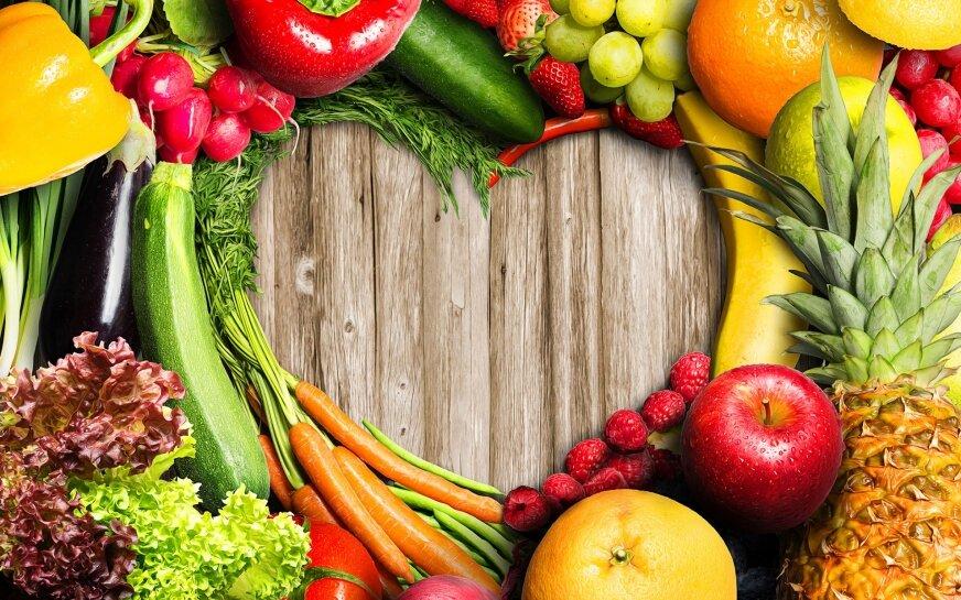 Laurka z owoców i warzyw