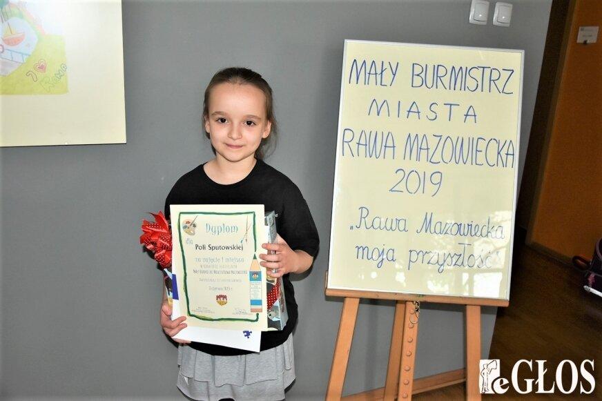 Małym Burmistrzem 2019 była Pola Sputowska