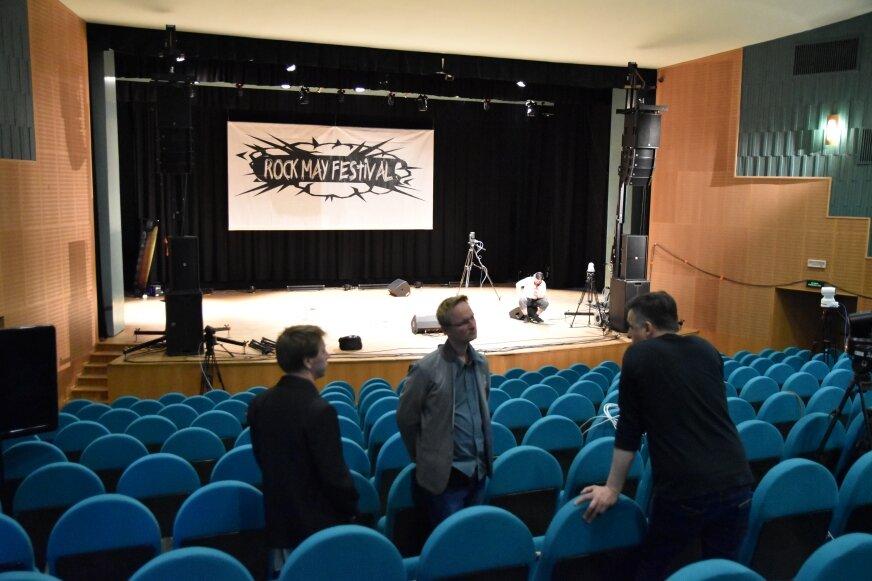 Koncert zorganizowany zostanie na dużej scenie kina Polonez, bez udziału publiczności.