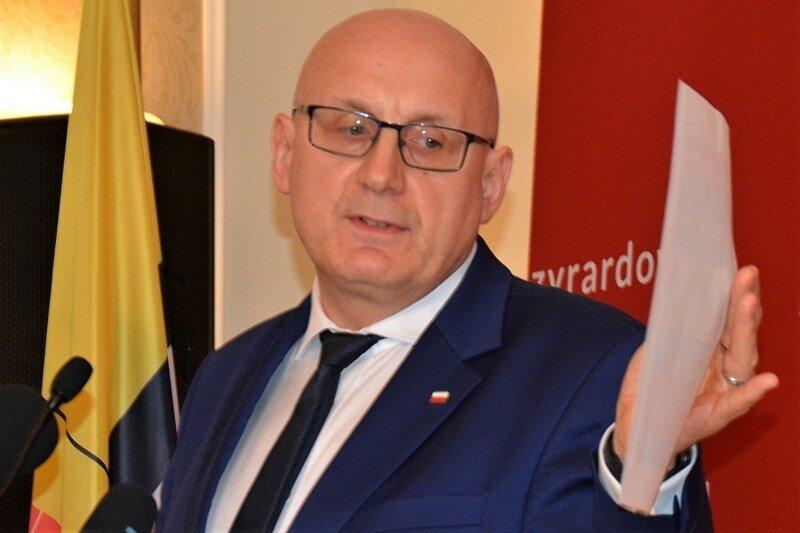 Jacek Sawicki, prezes Centrum Zdrowia Mazowsza Zachodniego w Żyrardowie