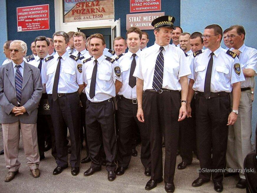 Tak skierniewiccy strażnicy miejscy świętowali 15 lat temu [ZDJĘCIA]