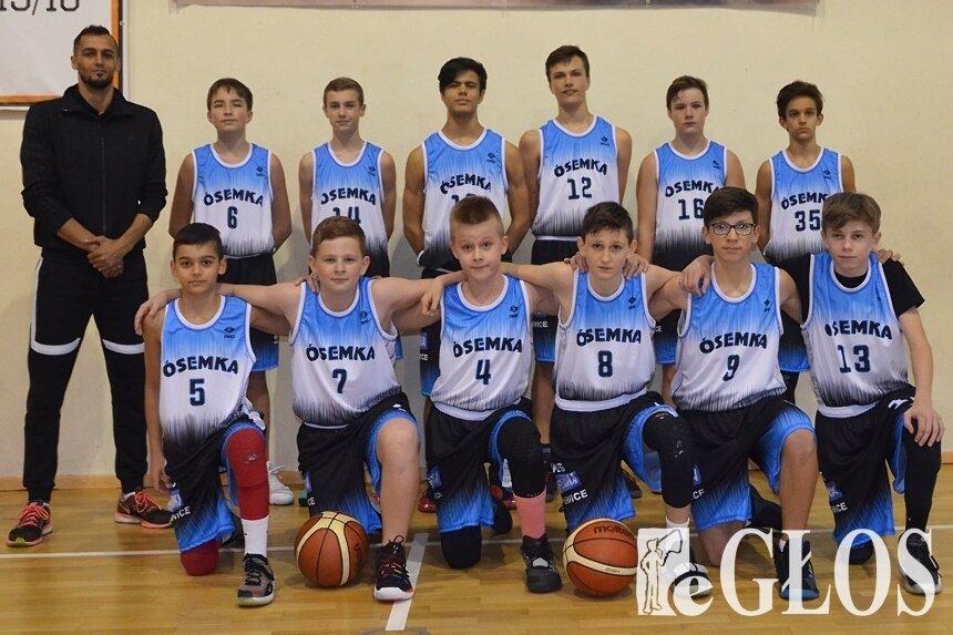 Zespół młodzików (U14) Ósemki w niedzielę (21.06) zagra o złoty medal cyklu.