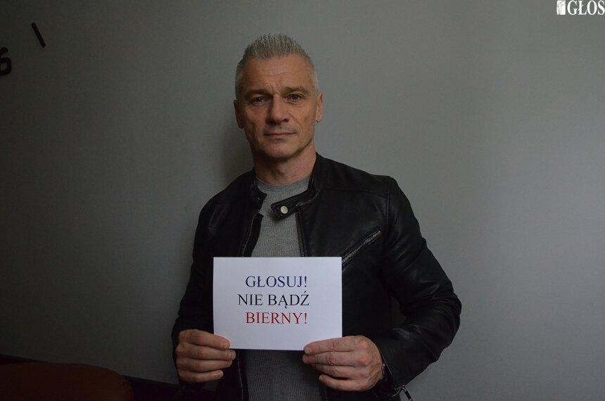 Marek Kujawski, prezes OSiR Skierniewice zachęca do udziału w wyborach.