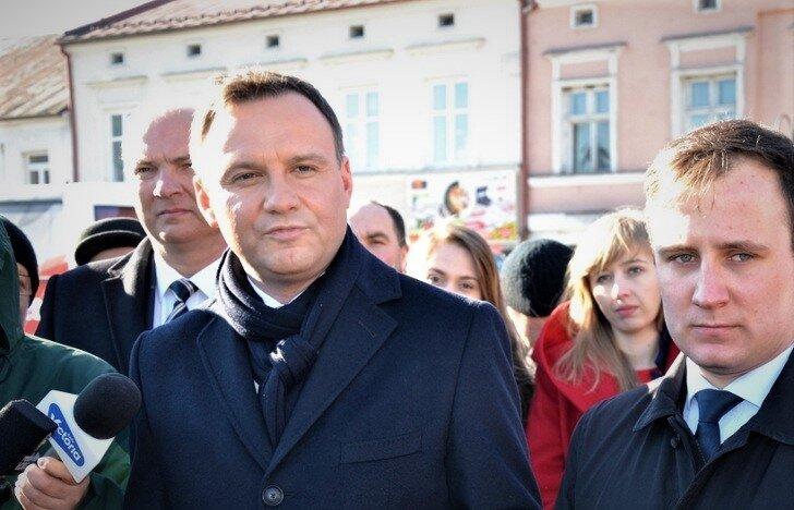 W 2015 roku Andrzej Duda odwiedził Skierniewic walcząc o prezydenturę z Bronisławem Komorowskim.