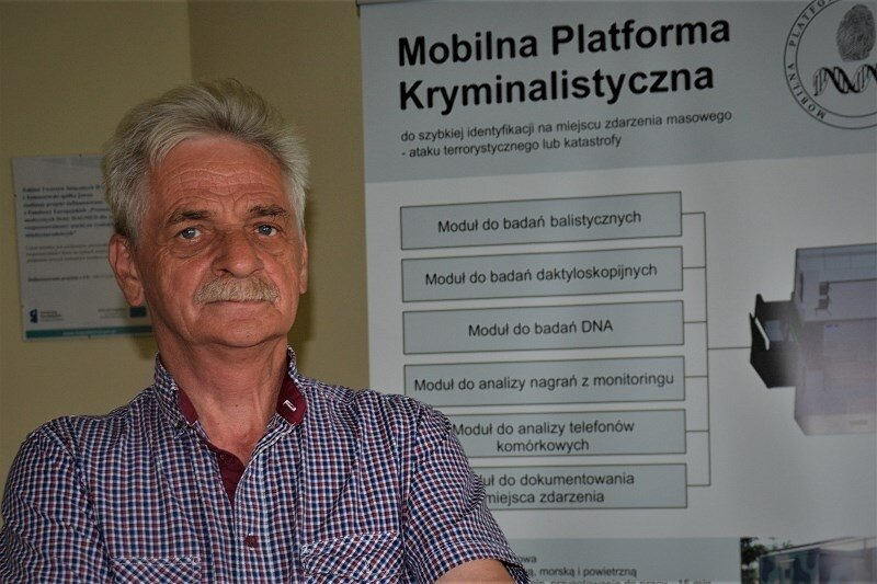 – Na sali rozpraw sąd potrzebuje dowodów, my je pozwalamy zdobyć i udokumentować – mówi prezes Kazimierz Tomaszewski.