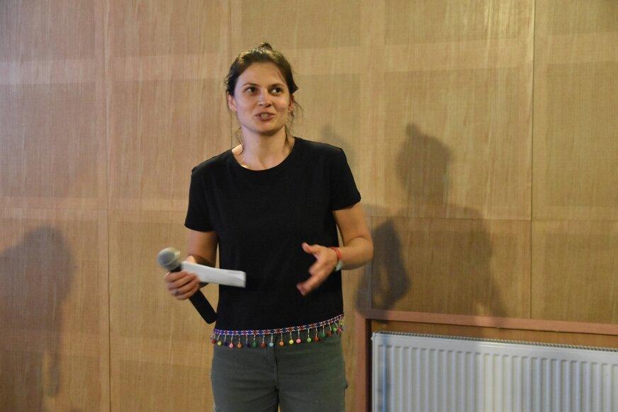 Na sierpniowe seanse do DKF zaprasza Agnieszka Skoczek, koordynująca prace klubu.