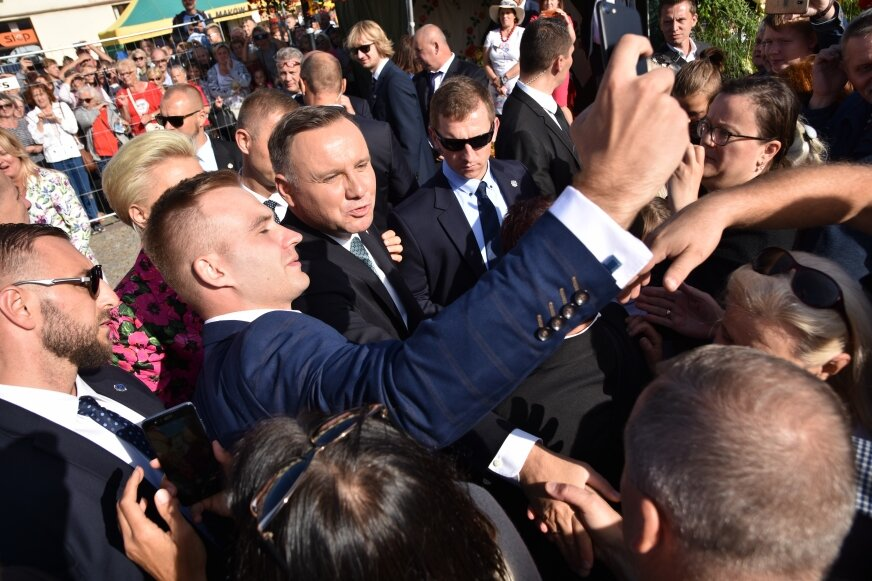 W minionym roku jednym z gości święta był prezydent Andrzej Duda.