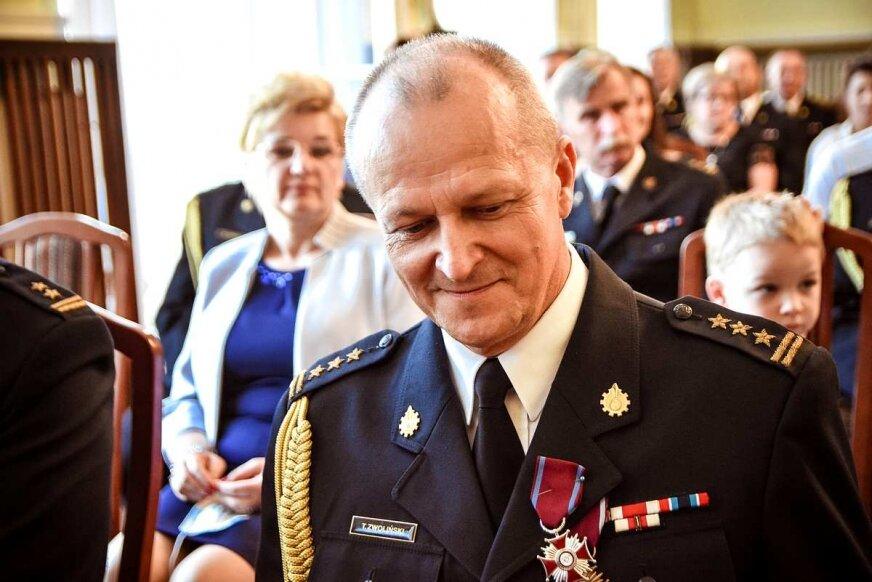 Tadeusz Zwoliński ochodzi na emeryturę.