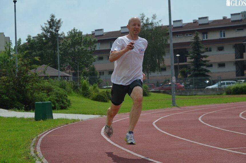 Krzysztof Garbicz mimo upływających lat nadal prezentuje wysoką sprinterską formę.