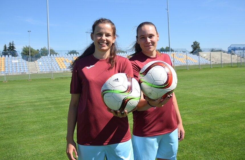 Michalina Walczak (z prawej) i Marta Tręboszka założyły nowe sportowe stowarzyszenie. EMKA Skierniewice funkcjonuje od lipca.
