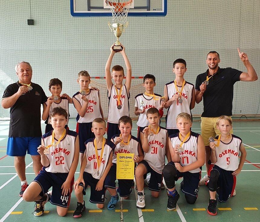Drużyna MKS Ósemka została wicemistrzem Radom Basket Cup 2020.