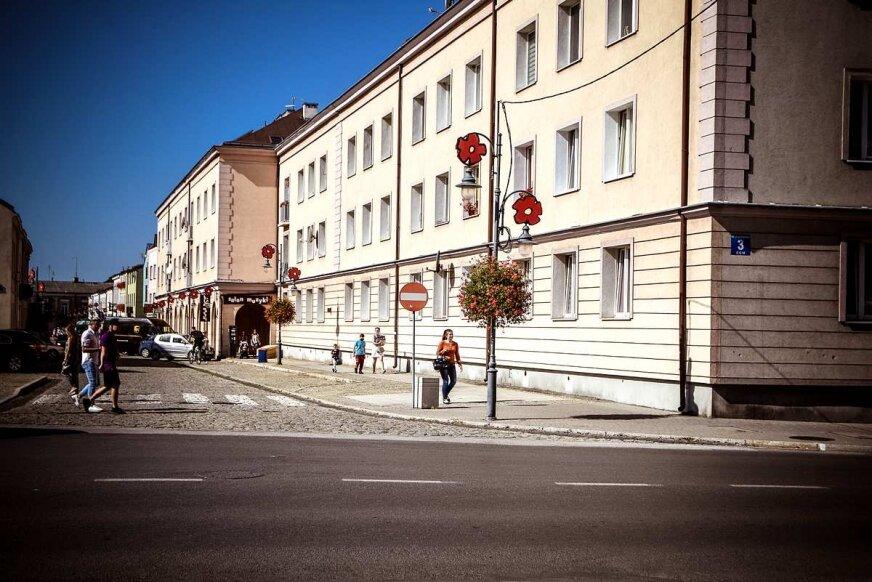 Ulica Żwirki w Skierniewicach.