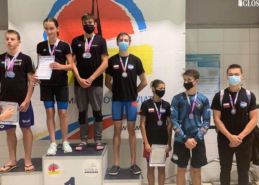 Dla pływaków ze Skierniewic start w Gliwicach był pierwszym od marca.