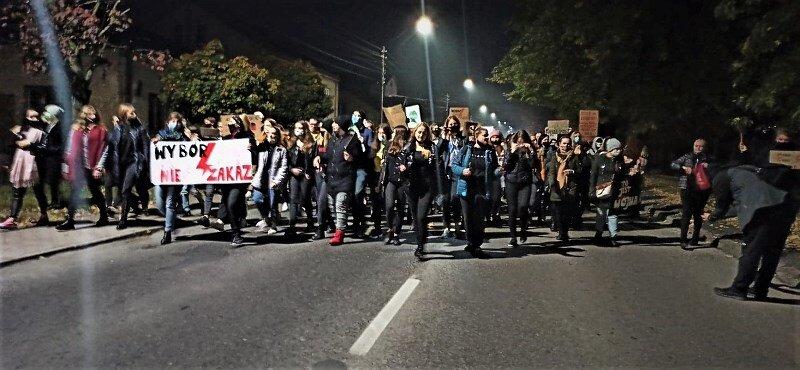Liczniejszy, głośniejszy! Strajk kobiet w Rawie Mazowieckiej