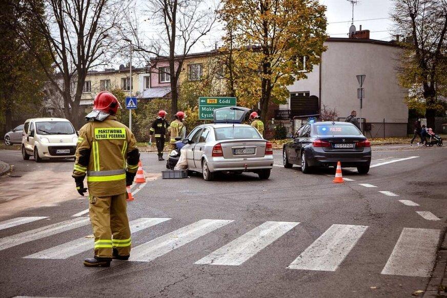 Wypadek na skrzyżowaniu Piłsudskiego i Kozietulskiego