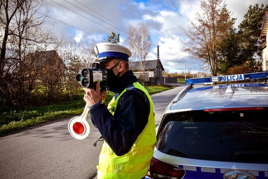 Trwa akcja Prędkość skierniewickiej policji